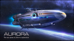 The ship you crashed on is called the Aurora.