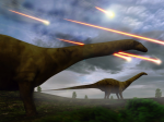Where did the comet that killed the dinosaurs land?