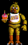 Chica attacks from the right hallway