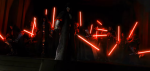 Why are Sith lightsabers red?