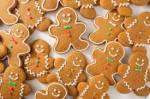 In the past, baking gingerbread cookies was a Christmas tradition