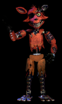 In FnaF 2, the mask doesn't work on Withered Foxy.