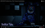 Foxy is connected to noticed a lot.
