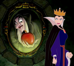 How does the Evil Queen address her mirror?