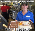 What are your feelings on minimum wage?
