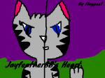 """Prologue Jayfeather sat next to Briarlight. Their son and daughters curled up under Briarlight's chin."""" Jayfeatherkit, Splashkit, Shinekit, and Fa"""