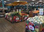 In Overcoming, Matt and Abby run into who at the grocery store over Thanksgiving break?