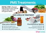 What can help reduce PMS symptoms